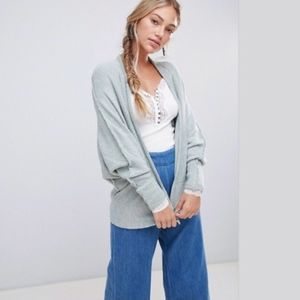 NWT Free People Motions Cardigan Oasis Combo